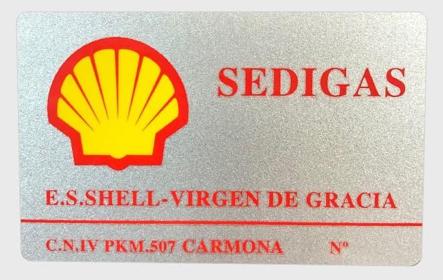 tarjeta magnetica gasolinera