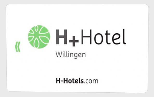 tarjeta para hotel