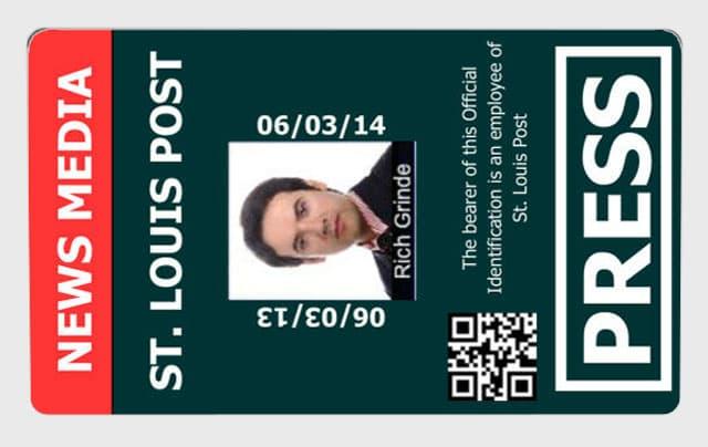 tarjeta magnetica prensa