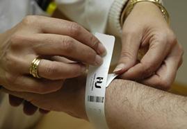 pulseras para hospital